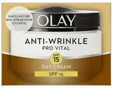 Olay Anti-Wrinkle Pro Vital SPF 15 Day Cream 50 ml Mature Skin Appears Youthful