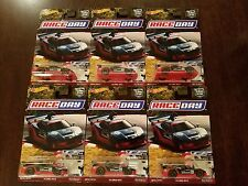 Hot Wheels 2017 Car Culture Race Day Acura NSX Advan Racing #5/5 (Lot of 6) *NEW
