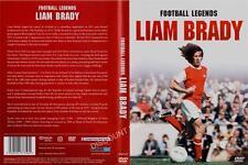 FOOTBALL LEGENDS-LIAM BRADY. NEW DVD