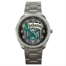 Harry Potter Slytherin Calidad deporte Metal reloj de pulsera De Regalo