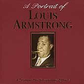 A Portrait Of, Armstrong, Louis, Audio CD, Good, FREE & FAST Delivery