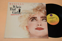 MADONNA LP WHO'S THAT GIRL ORIG USA TOP EX+