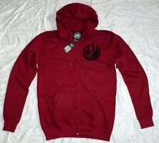 Metal Mulisha sweatjacke capucha ZIP hoody Hoodie nuevo M rojo Cr-f honda SX Fox Red