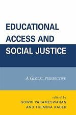 EDUCATIONAL ACCESS AND SOCIAL JUSTICE - NEW PRE-LOADED AUDIO PLAYER BOOK