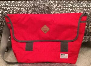 MENS CROSSBODY SHOULDER BAG  RED BRAND NEW. BENCH