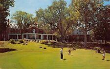 Cooperstown New York 1973 Postcard PGA Golf at Treadway Otesaga