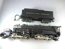 O Scale MTH Norfolk & Western Mallet 2-8-8-2 #2195 PS-2 Sound