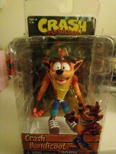 "NEW NECA Crash Bandicoot with Crate Replica 7"" Action Figure SEALED"