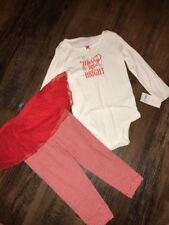 Carters 24 Months Girls Outfit Holiday Christmas Merry And Bright New