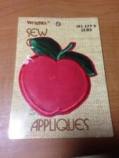 Apple Cute Fruit Tropical Fancy  Sew Iron On Patch Appliques Craft