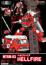 MAKETOYS REMASTERED SERIES MTRM-03 HELLFIRE aka INFERNO TRANSFORMERS MASTERPIECE