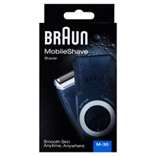Braun M30 MobileShave Men's Travel Electric Shaver Pocket Sized