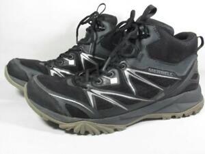 Merrell Capra Waterproof Hiking Boot Men size 10.5 Black