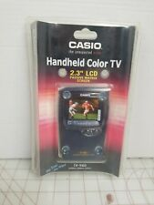 """Vintage Casio TV-980 2.3"""" Color LCD Handheld Color Hand Held TV New Sealed"""