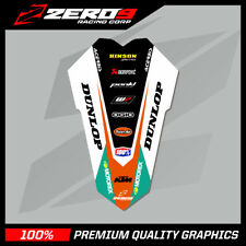KTM SX SX-F 011-015 EXC EXC-F 012-016 REAR FENDER DECAL MX GRAPHICS - TI