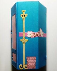 Vintage 1984 Mattel Barbie Home & Office Play Set Portable Case 80s RARE HTF