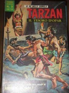 Vintage italian language Comic TARZAN # 3 JUN 1968 Russ Manning E R Burroughs