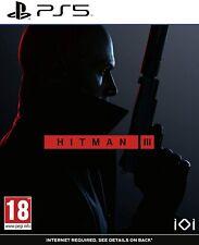 Hitman 3 III (PS5 PlayStation 5) (NEU & OVP) (UNCUT)
