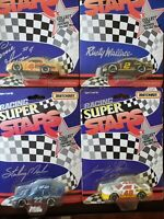 VINTAGE Lot of 4 Matchbox Racing Superstars 1/64 scales from 1992