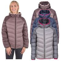 Trespass Kirstin Womens Down Jacket Winter Warm Puffer Coat with Hood