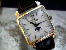 Men's Mechanical (Hand-winding) Polished Square Wristwatches
