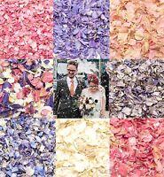 Dried Petal Wedding confetti  Delphinium Petals Natural Biodegradable dye free