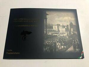 """2020 Poste Folder 150° Caserma Giacomo Acqua """" Carabinieri ar Popolo """"  LE 2200"""