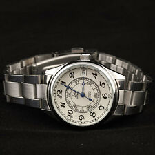Ladies Women's Automatic Mechanical Wrist Watch With Date Stainless Steel Band