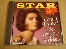 CD STAR GOLD / CONNIE FRANCIS - DIE GROSSEN ERFOLGE