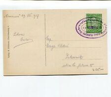 Yugoslavia 1937 Ship Mail S.S. Kumanovo Alps Picture PC