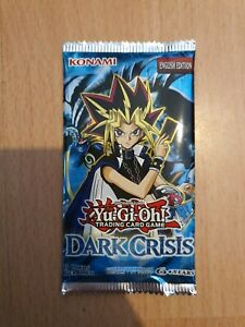 YuGiOh! TCG Dark Crisis (DCR) - Yu-Gi-Oh Booster Pack - BRAND NEW AND SEALED