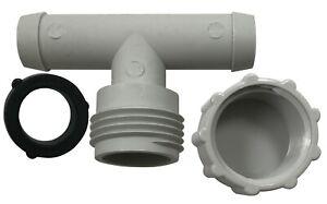 """20 Pack of 5/8"""" Hose Radiator Flushing Tee Fitting Caps & Sealing Washer"""