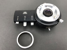 Carl Zeiss Microscope polarizing filter holder; 6 filters