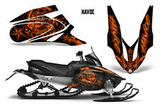 Yamaha APEX XTX Decal Wrap Graphic Kit Part Sled Snowmobile 2006-2011 HAVOC ORNG