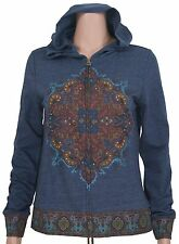 Lucky Lotus #2099 NEW Women's Size Small Full Zip Hoodie MSRP $89.50