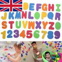 Kids Foam Number 24 Letter Baby Bath Toddler tub Floating Early Education Toy