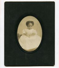 Large Mounted c1910 Photo of African American Baby, Denver, Colorado