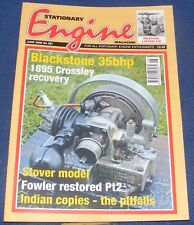 STATIONARY ENGINE MAGAZINE JUNE 2006 NO.387 - BLACKSTONE 35BHP