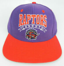 TORONTO RAPTORS NBA VINTAGE STYLE SNAPBACK RETRO 2-TONE CAP HAT NEW! BANNER