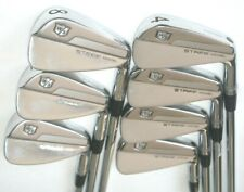 Wilson Staff Model Forged irons 4-PW with Dynamic Gold S300 stiff flex shafts