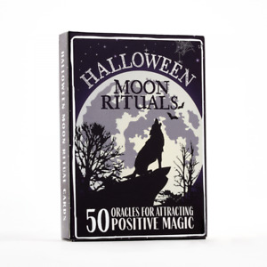 halloween moon rituals 50 oracles for attracting positive magic cards