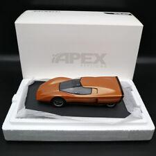 1:18 APEX Holden Hurricane 1969 Concept Car #002 Orange Limited Edition Models