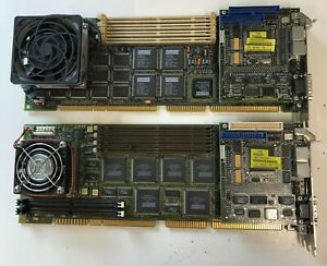 Job Lot of 2  scrap digital DEC processor boards for repair/ gold recovery 2.5kg