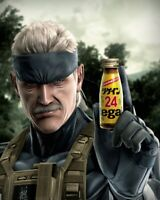 REGAIN METAL GEAR SOLID 4 ENERGY DRINK FULL SET NEW VERY RARE