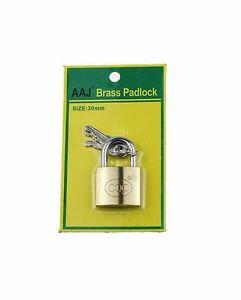 Brass Padlock 30MM, 40MM, 50MM
