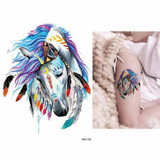 Temporary Tattoo Stickers Body Art Waterproof Indian Horse