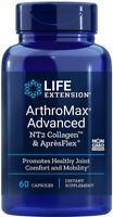 ARTHROMAX ADVANCED NT2 COLLAGEN APRESFLEX 60 Vegetarian Capsules LIFE EXTENSION