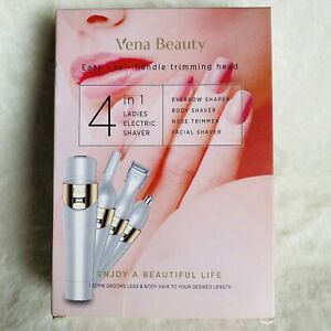 Vena Beauty 4 in 1 Professional Painless Hair Remover Ladies Electric Shaver