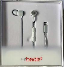 Apple Beats Dr. Dre urBeats3 Earphones W/Lightning Connector Silver MR2F2LL/A 5P