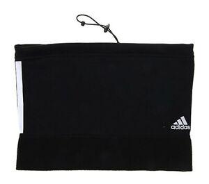 Adidas TIRO Clima-warm Fleece Neck Warmer Running Black Mask OSFM Scarf DY1990